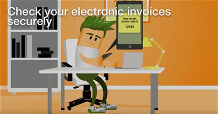 Cybersecurity - Secure electronic invoices