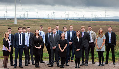 Applications are now open for marketing opportunities on the ScottishPower Graduate Programme