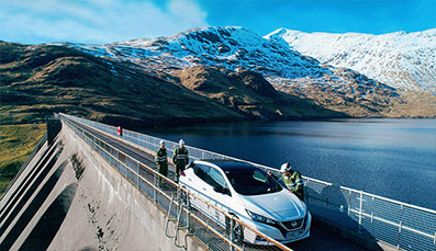 Latest version of world's best-selling electric car is launched at Scotland's biggest battery