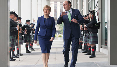 ScottishPower to invest £4m a day as First Minister officially opens new Headquarters