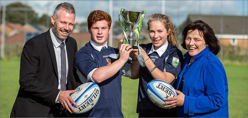 Carrick Academy crowned winners of inaugural ScottishPower Warriors Rugby Championship