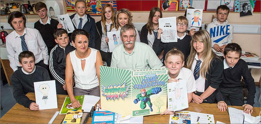 ScottishPower Foundation Energises A New Comic Generation At Wigtown Book Festival
