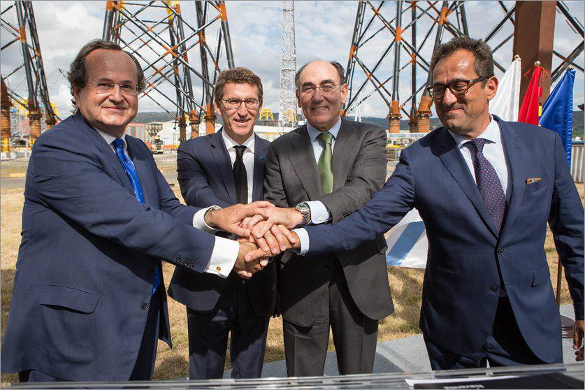 NAVANTIA and IBERDROLA hold event to mark delivery of first jackets for Wikinger offshore windfarm