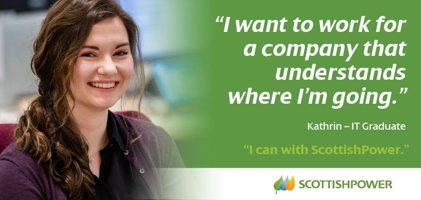 """I want to work for a company that understands where I'm going"" Kathrin - IT Graduate"