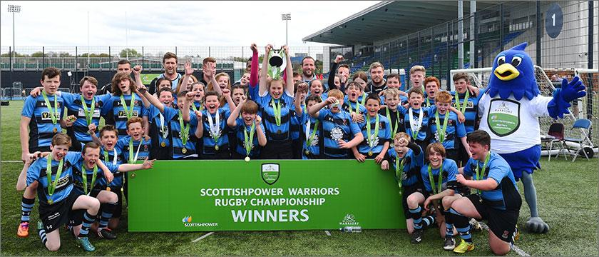 Carrick Academy crowned ScottishPower Warriors Rugby Champions at Scotstoun