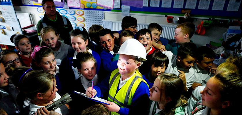 Cowdenbeath Primary pupils energised by SP Energy Networks visit