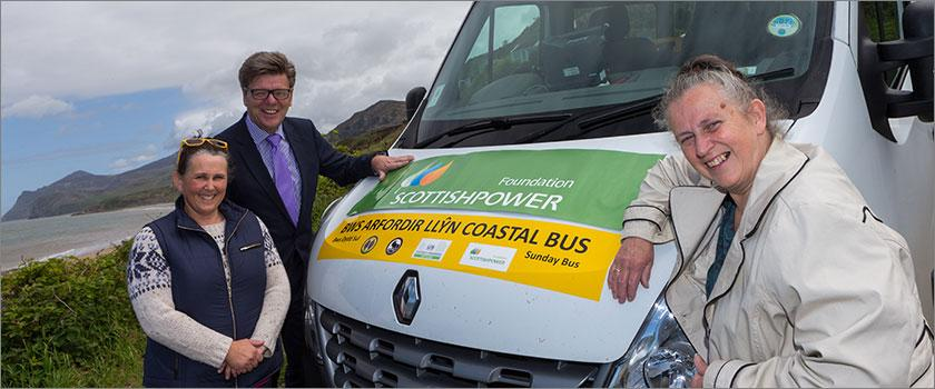 ScottishPower Foundation funding helps charity enhance the vital transport service