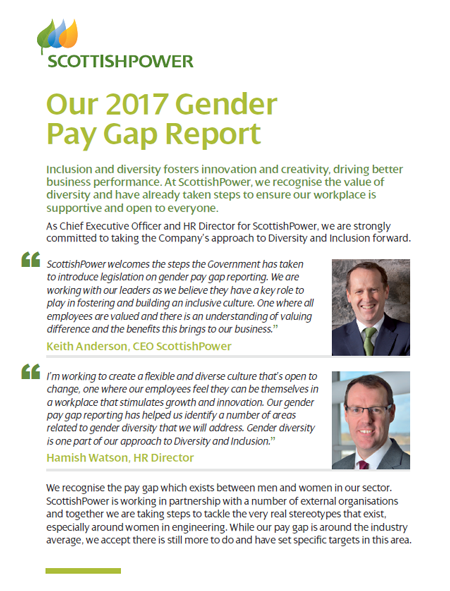 SP Gender Pay Gap Report