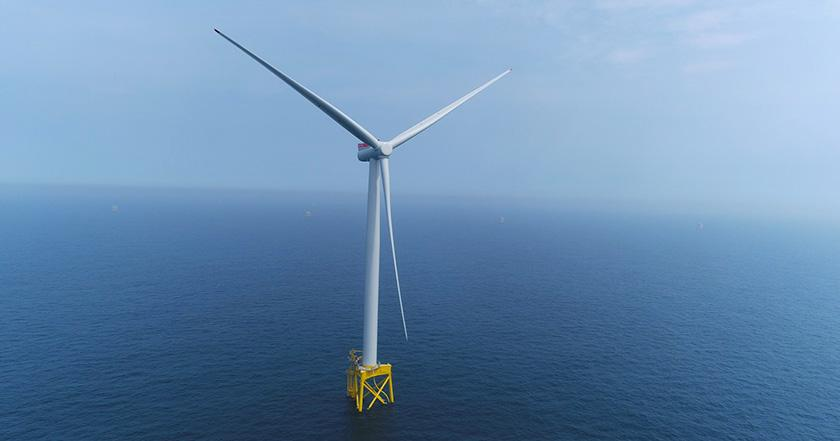 First power generated at East Anglia's largest offshore windfarm