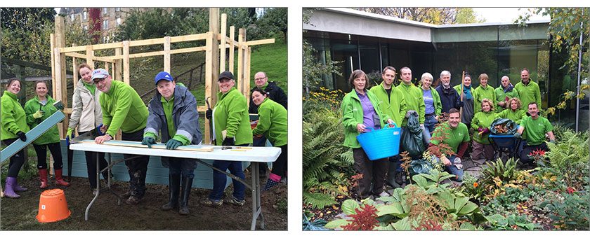 ScottishPower employees taking part in Iberdrola's International Volunteering Day