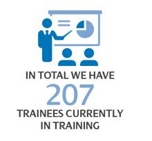 ScottishPower - Making clean energy work for Britain, 207 Trainees currently in training