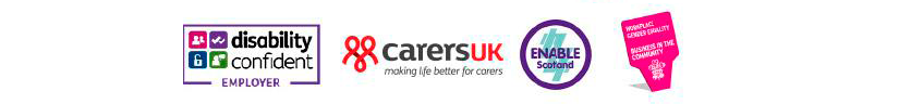 Disability Confident, Carers UK, Stonewall, Enable Scotland, Business in the Community, Employers Network for Equality & Inclusion