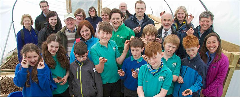 RSPB Scotland Abernethy celebrates tree nursery opening