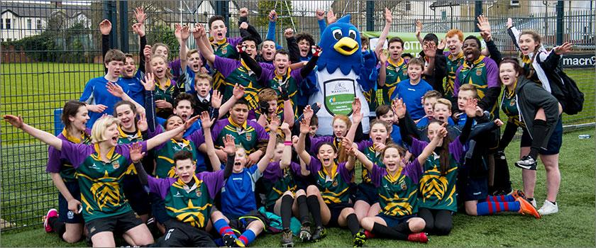 Local Glasgow school one step closer to ScottishPower Warriors Rugby Championship glory