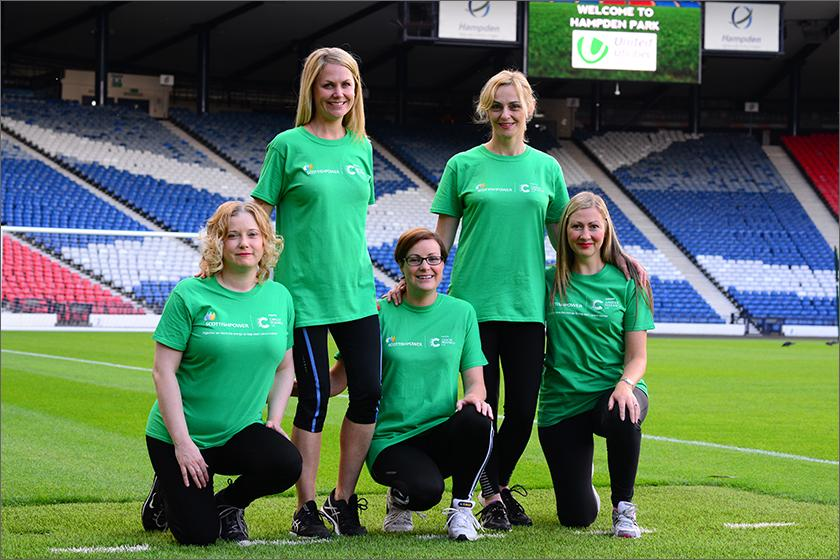 ScottishPower Cancer Research UK Shine Team