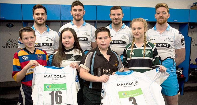 Glasgow Warriors and ScottishPower kick off new Rugby Championship for secondary schools