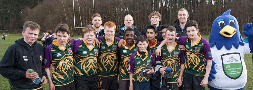 Shawlands Academy earn place in ScottishPower Warriors Rugby Championship final