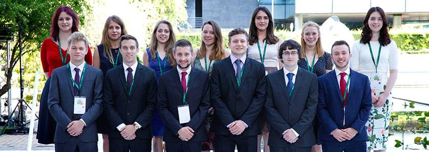 2016 ScottishPower Foundation Scholarship Students