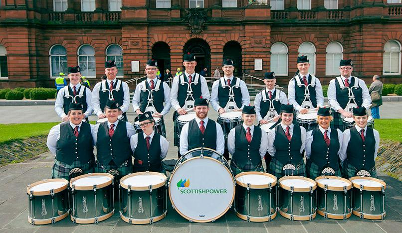 ScottishPower Foundation 2017 - ScottishPower Pipe Band