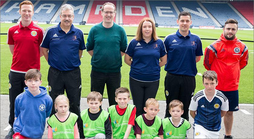 Young learners spend a day at Hampden thanks to Children's University Scotland and ScottishPower Foundation